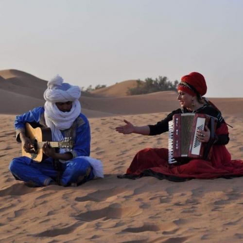 Mustapha El Boudani & Anna Witczak